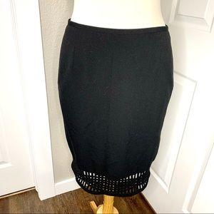 Calvin Klein Casual Black Skirt